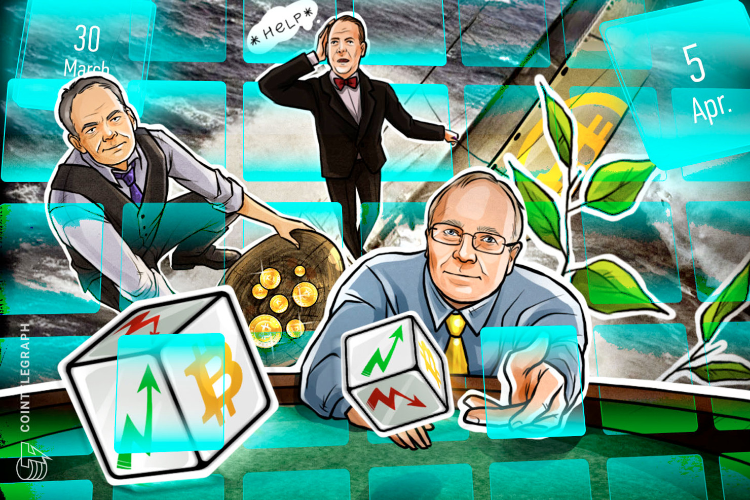 Bitcoin Threat, CoinMarketCap Bought, Trump Hint, Apple Rumor: Hodlers Digest, March 30–April 5