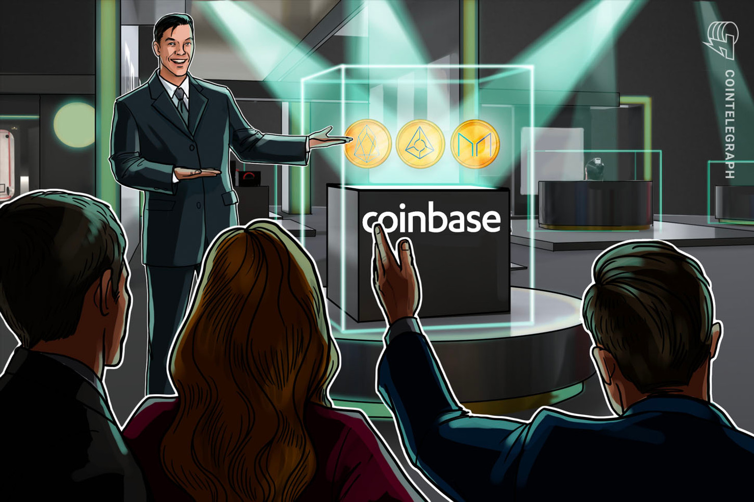 Coinbase Pro Adds Support for Three New Tokens: EOS, Augur and Maker