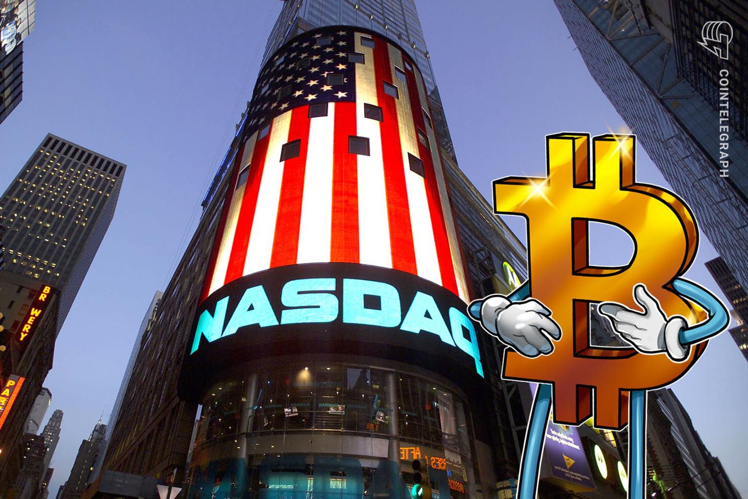 When will bitcoin trade on nasdaq