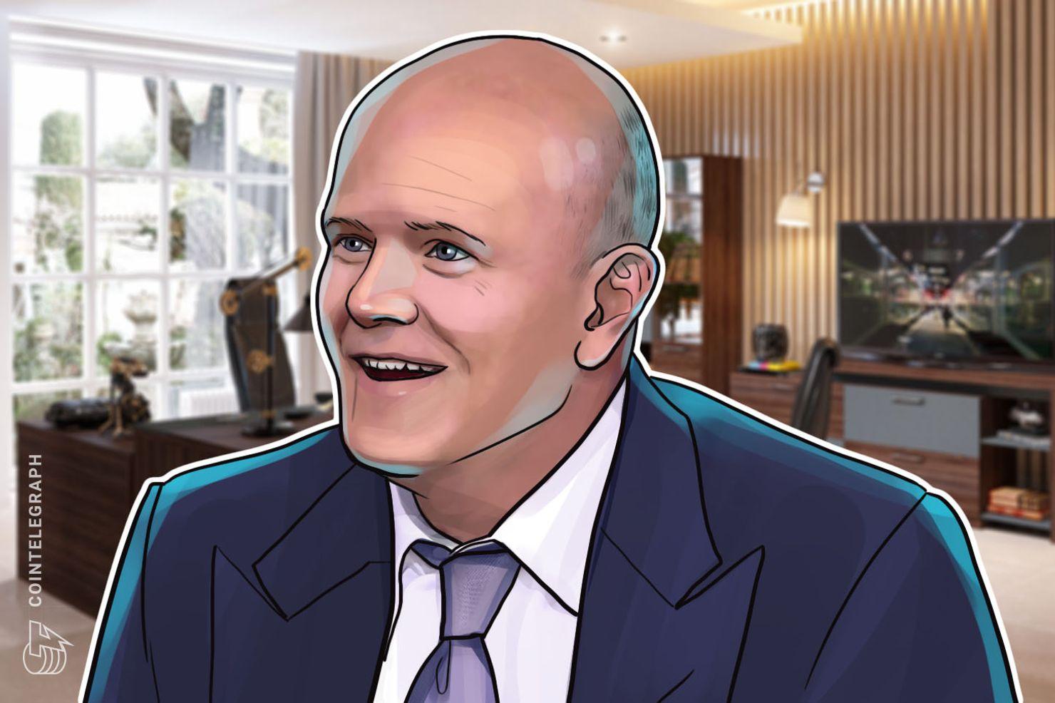 Galaxy Digital's Mike Novogratz: Cryptocurrency Markets Will 'Flip Next Year'