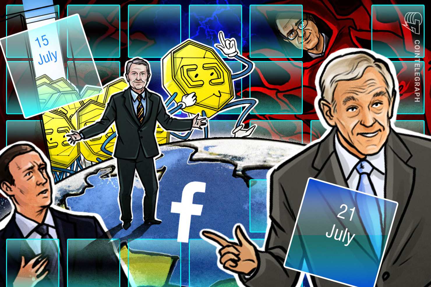 Hodlers Digest, July 15–21: Libra Special! Top Stories, Price Movements, Quotes and FUDs of the Week