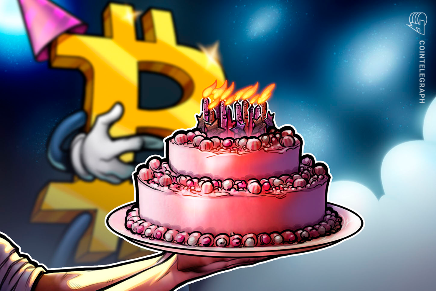 Image result for bitcoin cake
