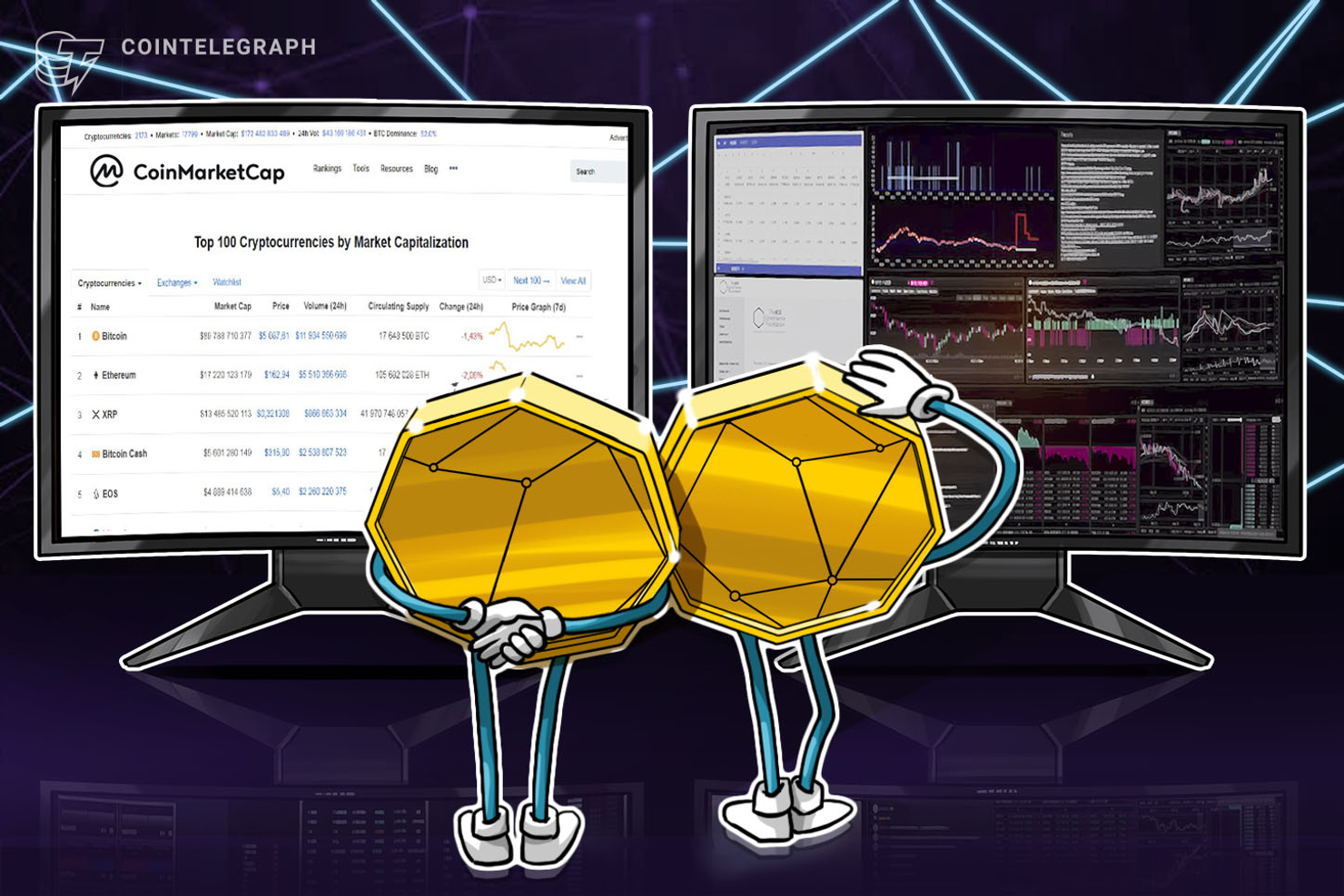 CoinMarketCap Now Provides Crypto Investors With Data on Liquidity
