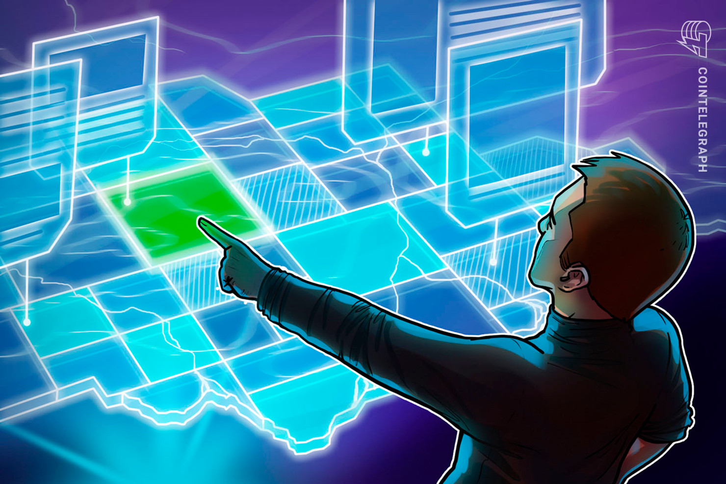 Flying Hot Off the Shelves — Virtual Land Based on Blockchain
