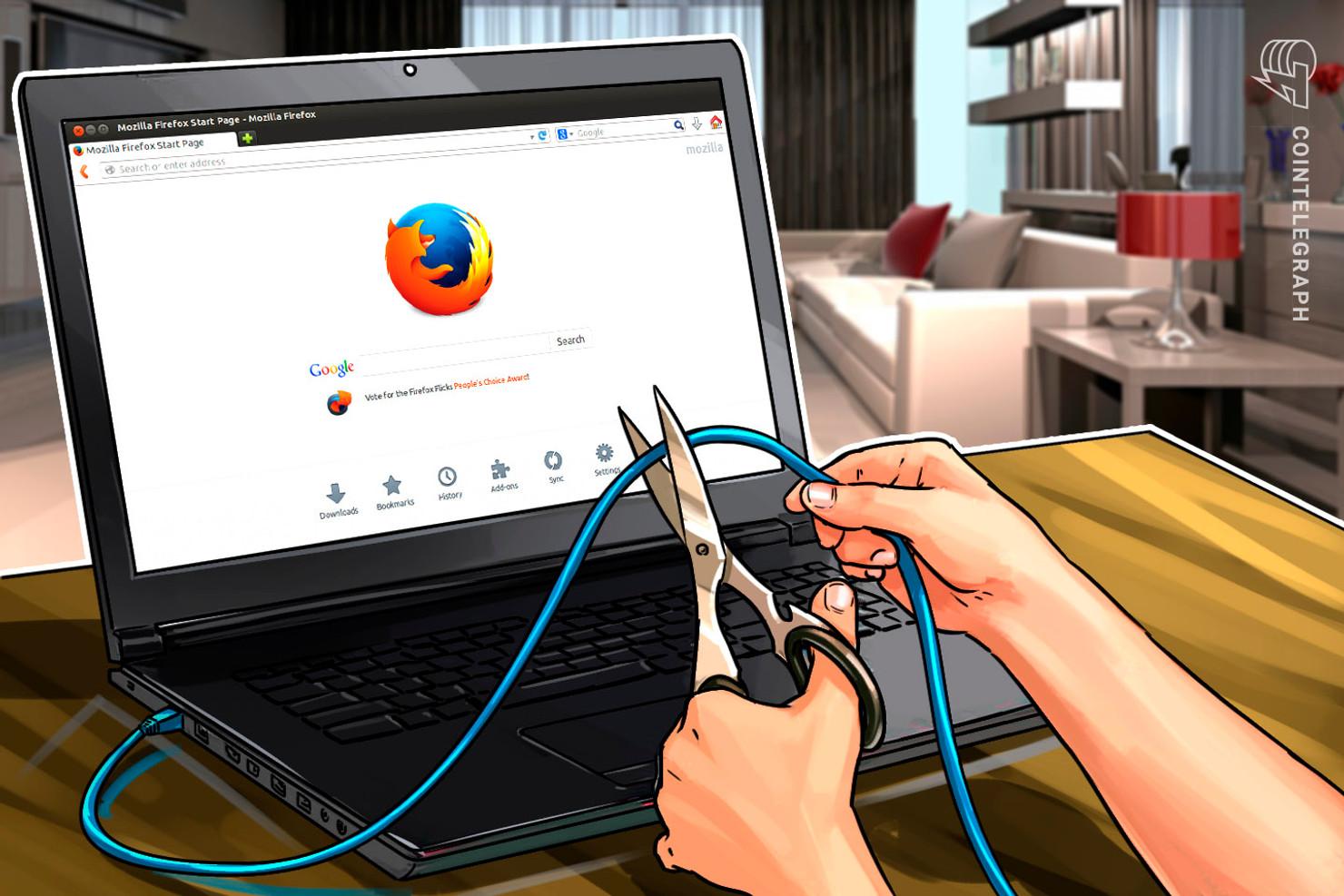 Major Web Browser Firefox by Mozilla Now Blocks Web-Based Cryptojacking
