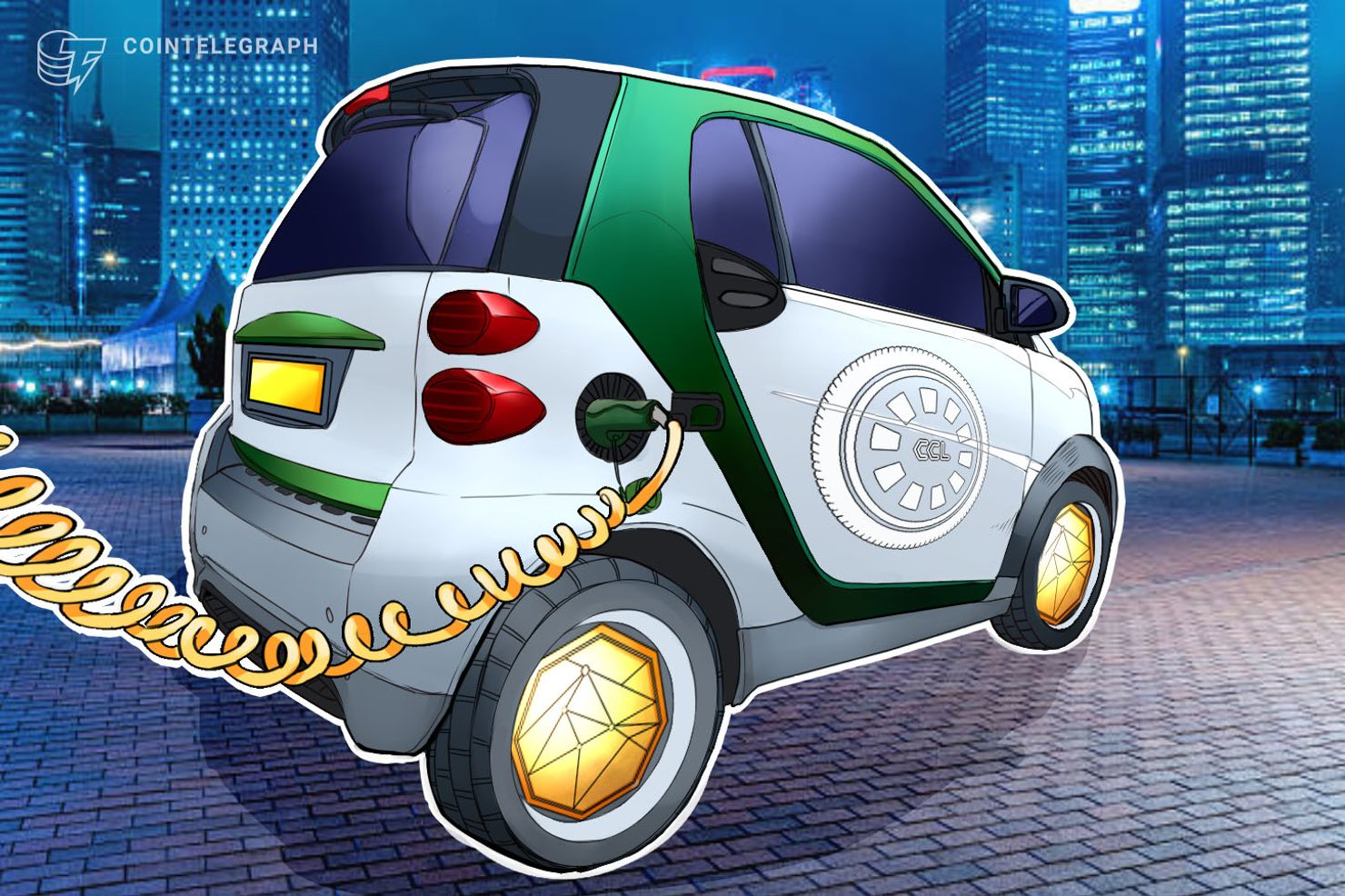 Startup Launches Blockchain Powered Electric Vehicles That Mine Cryptocurrency