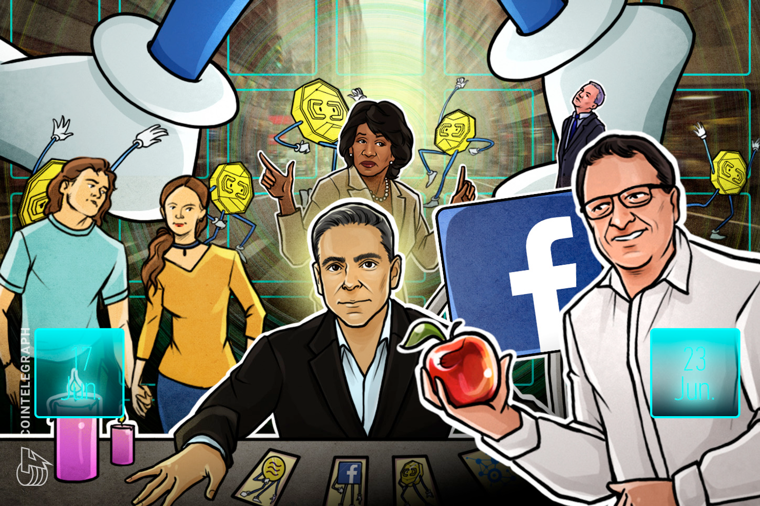 Hodler's Digest, June 17–23: Top Stories, Price Movements, Quotes and FUD of the Week