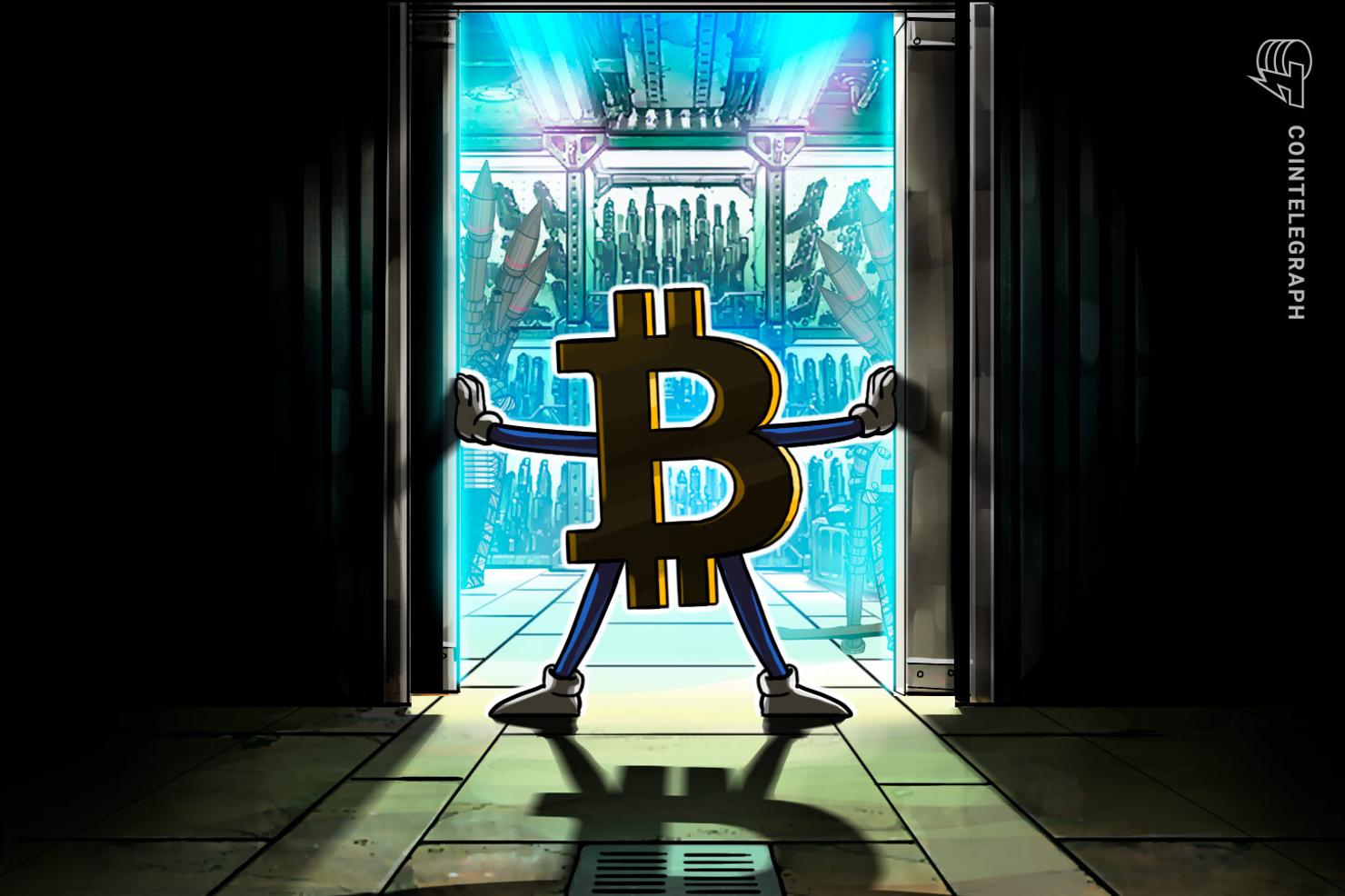 Suberg bitcoin price makes