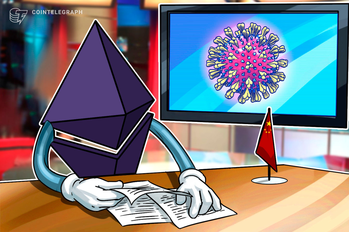 Chinese Journalist Shares Report on COVID-19 on Ethereum, Bypassing Censor