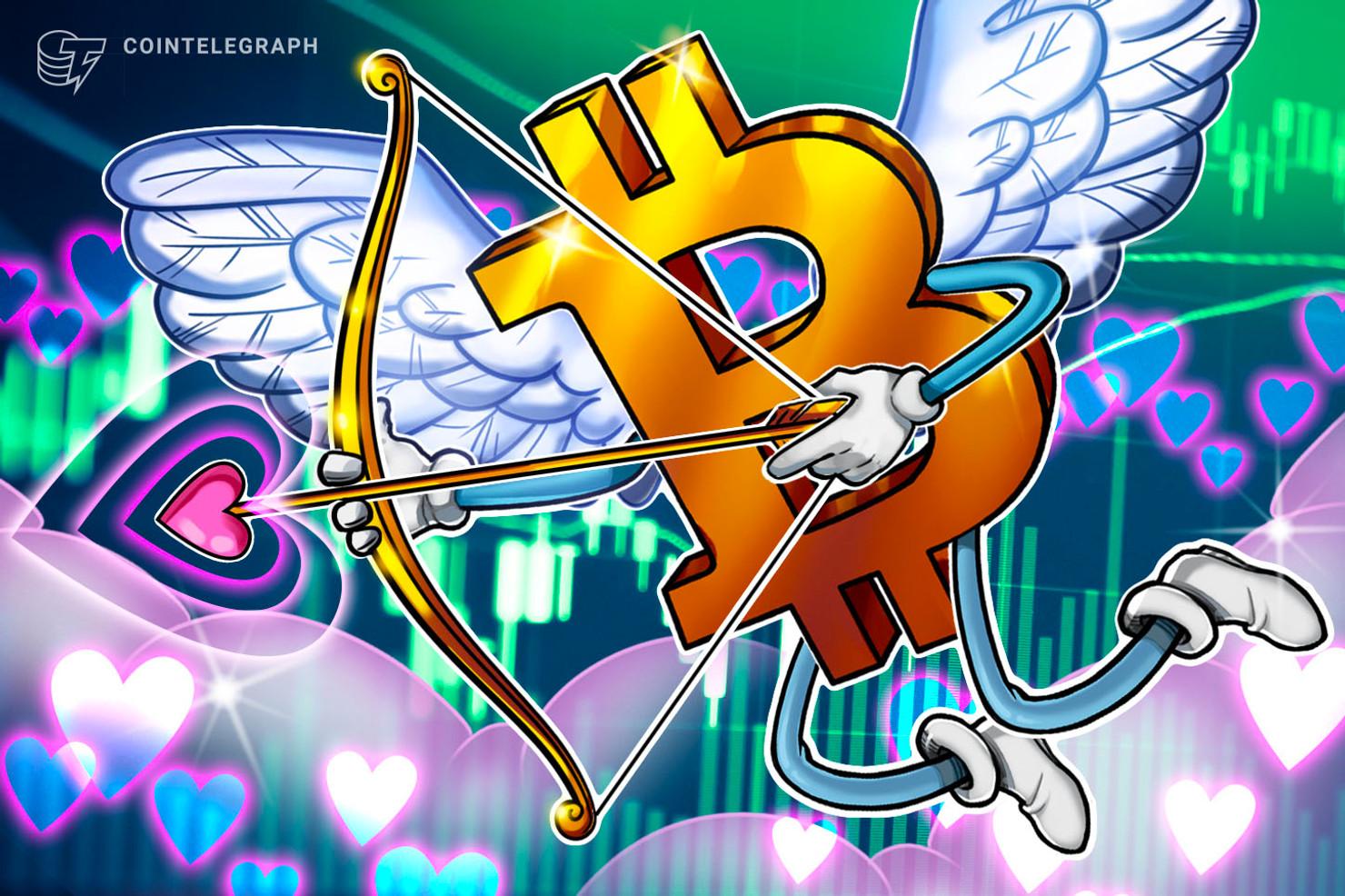 El precio de Bitcoin ama el día de San Valentín, ya que los datos históricos favorecen a los alcistas