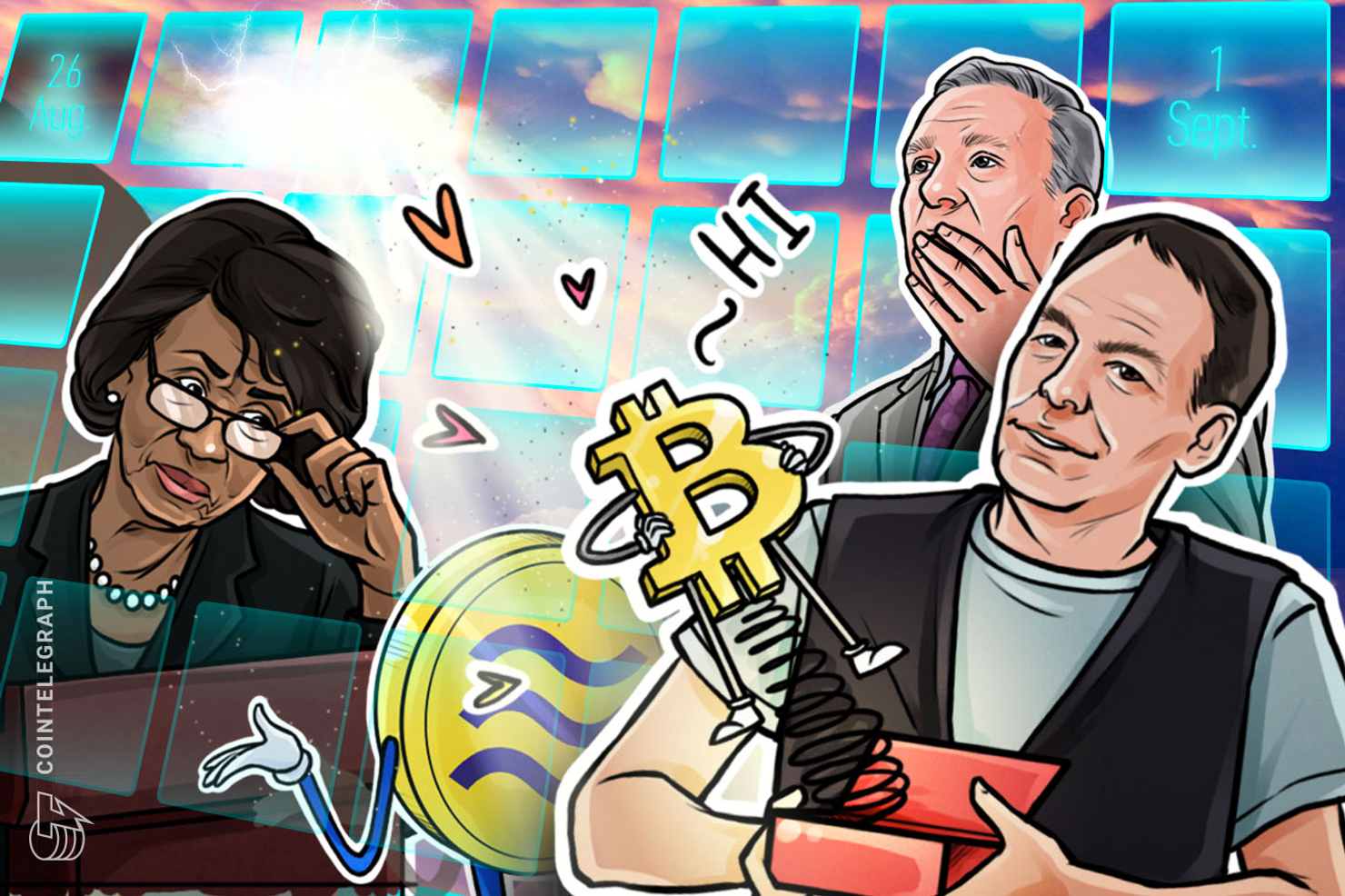 500,000 BTC Payout, Sudden Slump: Hodler's Digest, Aug. 26–Sept. 1
