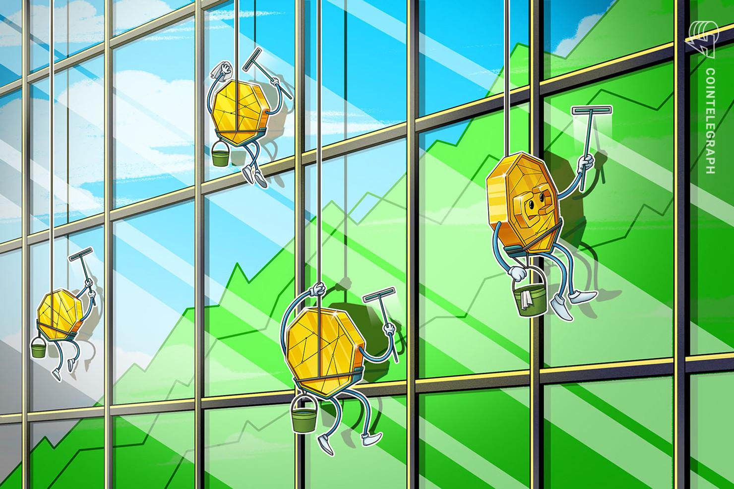 アルトコインが強さ示す ETCやモナコインは30%上昇   ビットコインのドミナンスは65%台に【仮想通貨相場】