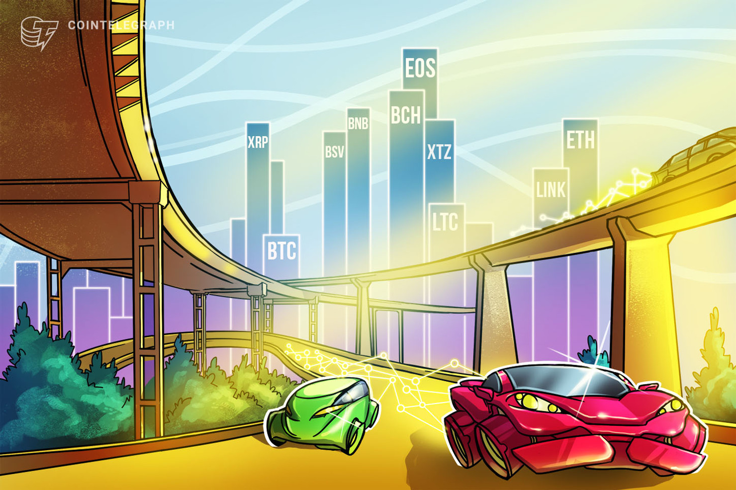 Price Analysis Feb 19: BTC, ETH, XRP, BCH, BSV, LTC, EOS, BNB, XTZ, LINK