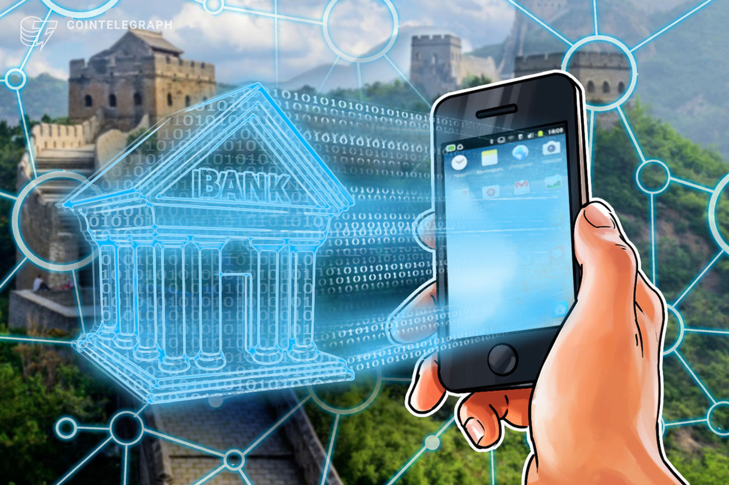 Major Chinese Bank Updates Blockchain Platform After $50 B Transacted