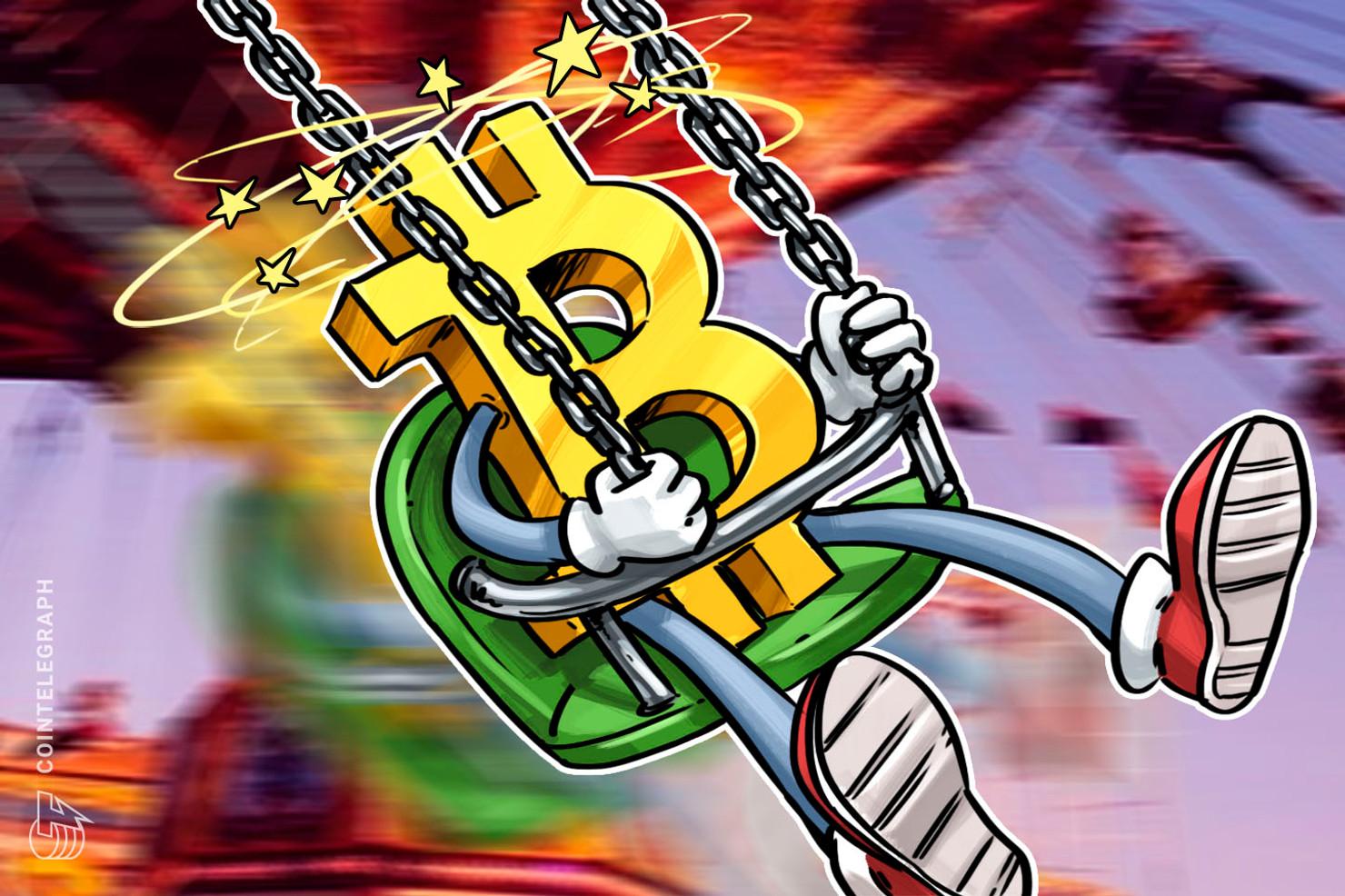 El precio de Bitcoin rechaza la marca de los USD 10,500 y baja USD 300 repentinamente