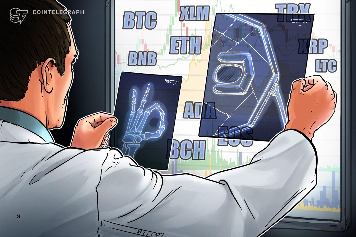Bitcoin, Ethereum, Ripple, Litecoin, EOS, Bitcoin Cash, Binance Coin, Stellar, Tron, Cardano: Price Analysis, March 15