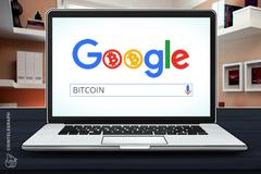 """Broj Gugl pretrage širom sveta za """"bitcoin"""" na nivou tromesečnog maksimuma"""
