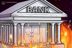 Filiale della Banca Centrale dell'Iran in fiamme, la comunità delle criptovalute segue gli eventi