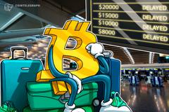 Lieve crescita dei mercati delle criptovalute, Bitcoin ancora in rosso