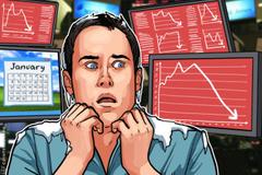 Dow Jones crolla di altri 1.000 punti in una settimana, mercati delle criptovalute non vengono influenzati