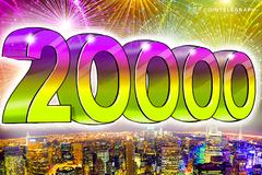 Bitkoin: Na kraju godine, koju je obeležio neverovatan rast, dostiže cenu od 20.000 dolara po novčiću