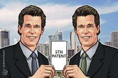 Vinklevos blizanci dobili su peti patent za ETP koji koristi kriptovalute