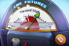 Sul CME, il numero di posizioni aperte per il future sul Bitcoin raggiunge un nuovo massimo storico