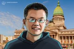 Il CEO di Binance CZ allude alla creazione di un exchange fiat-cripto in Argentina