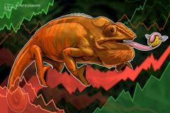 Moderata contrazione dei mercati, Bitcoin oscilla attorno ai 3.550$