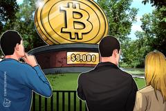 Bitcoin testa il supporto a 9.000$, ma l'opinione degli analisti rimane positiva