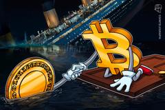 Seconda giornata negativa per i mercati, bitcoin a quota 7.500$