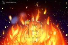 Požar u rudarskoj farmi odgovoran za kolebanje heš stope Bitkoin mreže