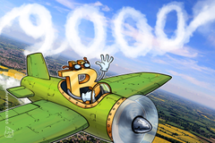 Bitcoin supera il muro dei 9.000$, anche se per poco