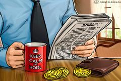 Bitkoinov dvomesečni pad - pečat vremena