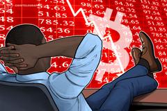 Bitcoin crolla temporaneamente a 6.500$, in rosso anche le altre criptovalute