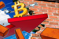Crollo flash di Bitcoin, persi 1.500$ in 24 ore: prossima fermata 7.500$?