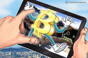 Eine einzige Person verantwortlich für den Sprung von Bitcoin im Jahr 2013 von 122 € auf 816 €