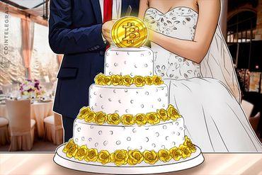 Pure Bitcoin Bate Fine China nos Registros de Casamento dos EUA