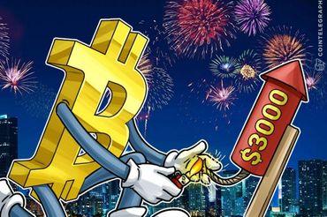 Cena bitkoina će skočiti iznad 3.000 dolara nakon aktivacije SegWit-a