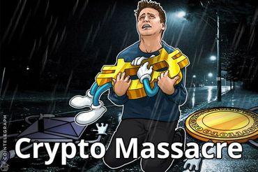 Cripto Massacre: Por que Ethereum, Bitcoin & as Moedas do Top 30 Declinaram em Valor
