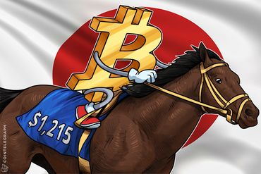Bitcoin Price Breaks $1,215 Due to Rapid Mainstream Adoption in Japan
