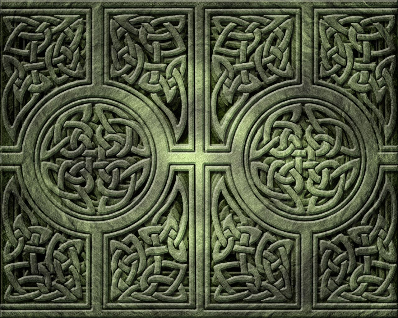 Bitcoin Network Decorated with Celtic Knotwork