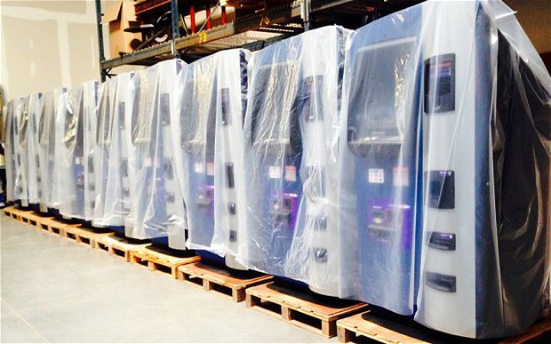 Robocoin looks to ship 45 ATMs by spring [Updated]