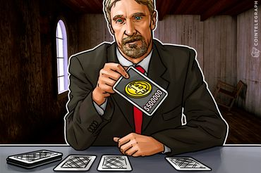 McAfee Stakes His Name, $10 Mln On Bitcoin Split