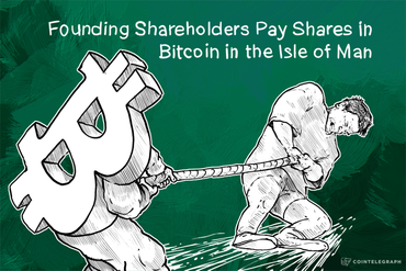 Founding Shareholders Pay Shares in Bitcoin in the Isle of Man