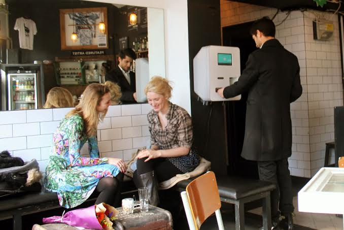 London's first Bitcoin machine turns up in Shoreditch