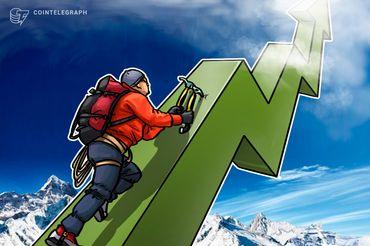 Mercato delle criptovalute in positivo, Bitcoin sopra quota 10.000$