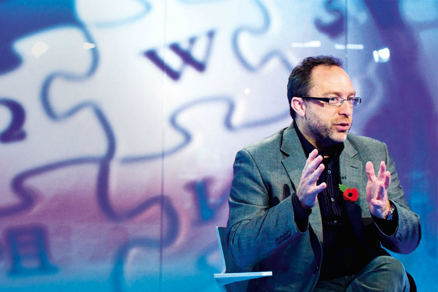 Wikipedia co-founder experimenting with Bitcoins