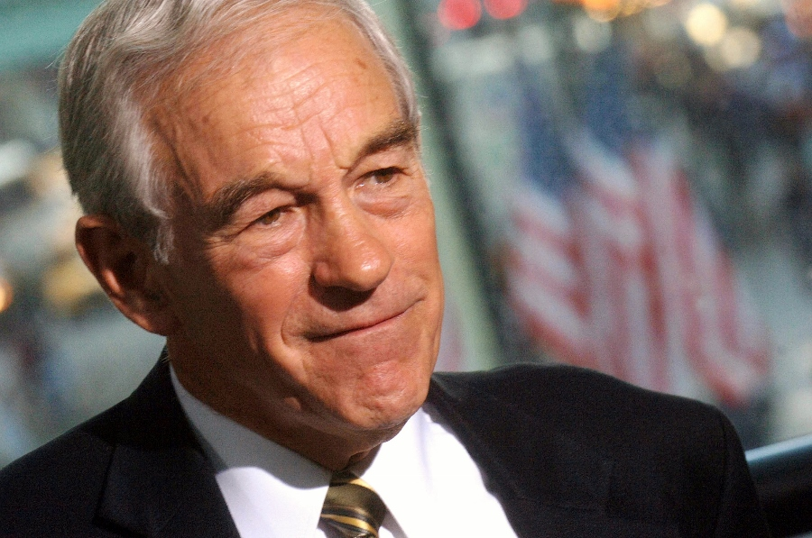 Ron Paul was demanding legal currency competition back in 2011