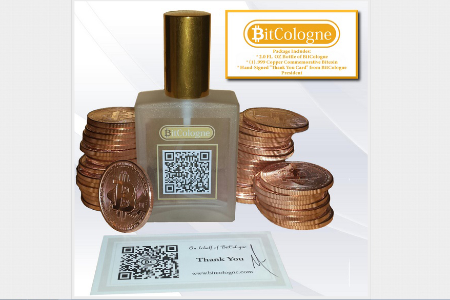Sweet Odor of Bitcoin with a Rich Citrus Note